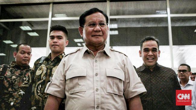 Prabowo: Kita Harus Jaga Kerukunan Antarumat Beragama