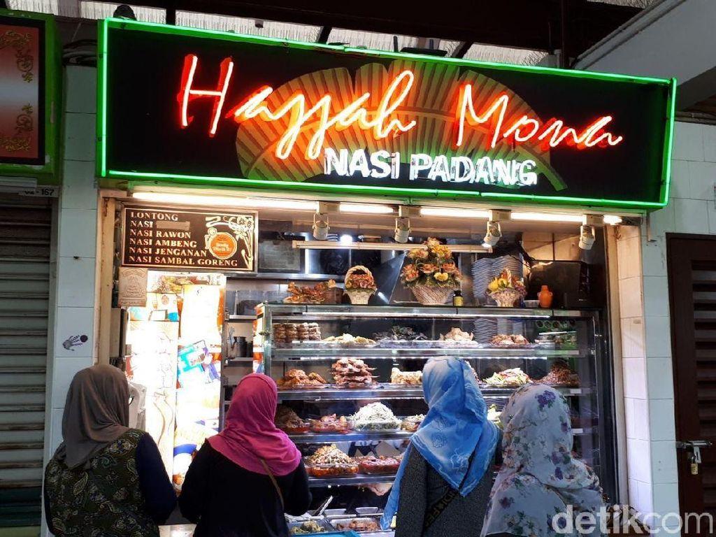 Seru! Belanja dan Makan Nasi Padang di Pasar Melayu Singapura