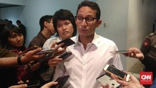 Sandi soal Prabowo Menteri Terbaik: Selamat pada Bos Saya