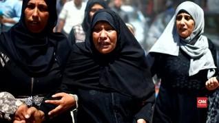 VIDEO: Pemakaman Seorang Bayi, Korban Termuda Bentrok Gaza