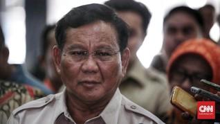 Prabowo Persoalkan Penunjukan Iriawan Jadi Penjabat Gubernur
