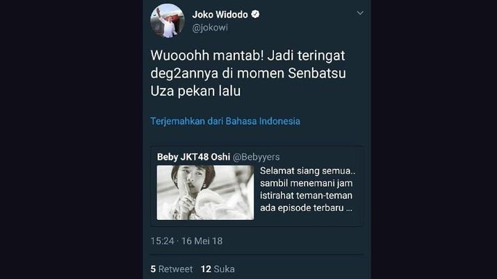 Jadi admin akun twitter memang harus berhati-hati, apalagi kalau jadi admin akun twitter orang nomor wahid di Indonesia, Presiden Joko Widodo.