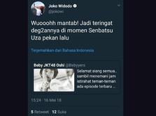 Jokowi, JKT48, dan Admin Twitter yang Tertukar