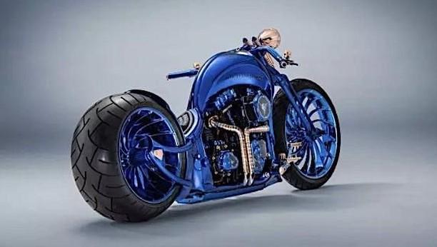 Ini Wajah Modifikasi Motor Termahal di Dunia Rp 25 Triliunan