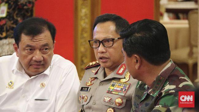 Marak Teror dan Bincang Serius Para Jenderal di Rapat Kabinet
