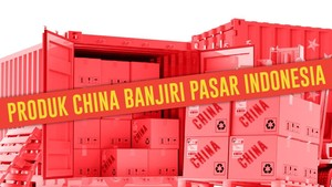 Produk China Banjiri Pasar Indonesia