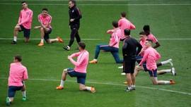 FOTO: Persiapan Atletico Madrid Jelang Final Liga Europa