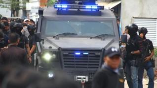 Densus Bekuk 7 Terduga Teroris Sumsel, Termasuk Pegawai BUMN