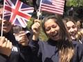 VIDEO: Mantan Sekolah Rayakan Pernikahan Harry-Markle