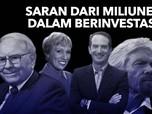 5 Saran Investasi Terbaik Dari Miliuner Untuk Milenial
