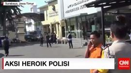Aksi Heroik Polisi