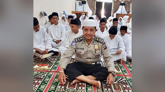 Ipda Auzar Meninggal di Mapolda Riau Usai Solat Duha