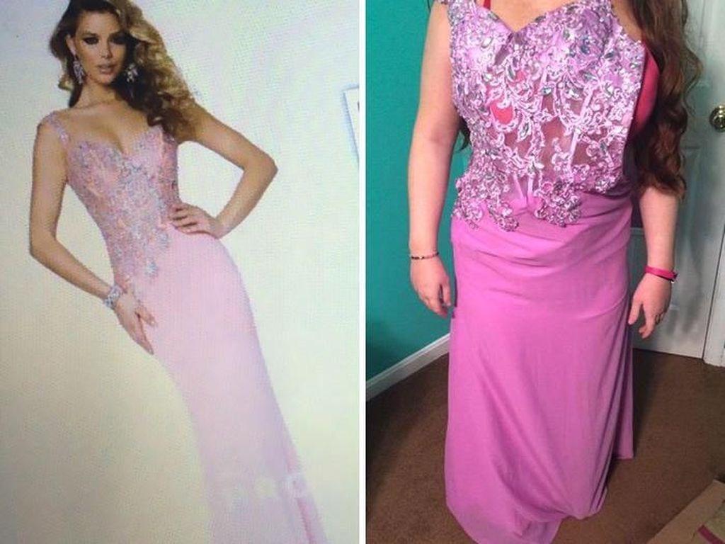 15 Postingan Kocak Saat Para Remaja Menyesal Beli Prom Dress Online