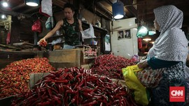 Harga Cabai Makin 'Pedas' di Kantong