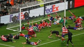 FOTO: Atletico Madrid Juara Liga Europa 2018