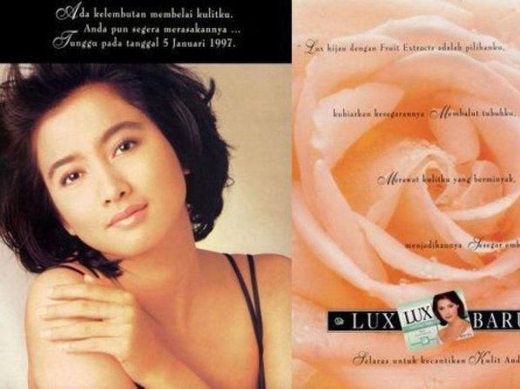 Potret Jadul Artis Indonesia di Iklan Sabun Era 90-an, Siapa Favoritmu?