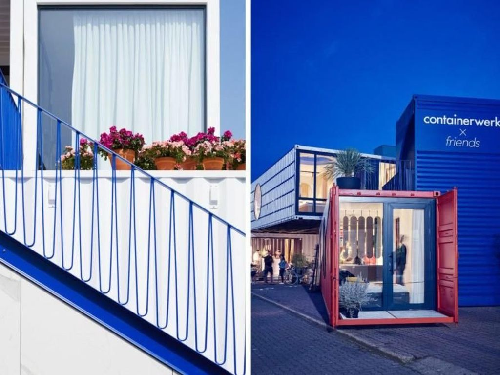 Salah satu tantangan terbesar adalah mengubah struktur dalam ruangan kontainer sehingga bisa digunakan sebagai rumah atau kantor. Istimewa/Inhabitat.