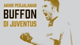 INFOGRAFIS: Akhir Perjalanan Buffon di Juventus