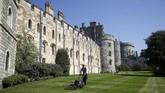 Sejarawan seni Hugh Roberts pernah menilai Kastel Windsor memiliki arsitektur luar biasa dan tak tertandingi di Eropa.(Reuters/Henry Nicholls)
