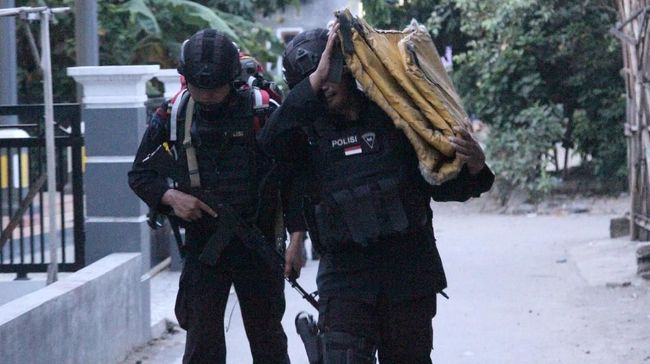 Ledakan Terjadi di Rumah Terduga Teroris di Sibolga Dini Hari