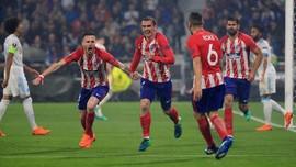 Griezmann Dua Gol, Atletico Madrid Juara Liga Europa