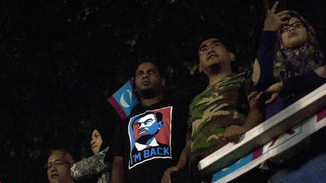 Anwar juga menyatakan bahwa dirinya telah memaafkan Mahathir, yang pernah menjebloskannya ke dalam bui. (ANTARA FOTO/Rafiuddin Abdul Rahman)