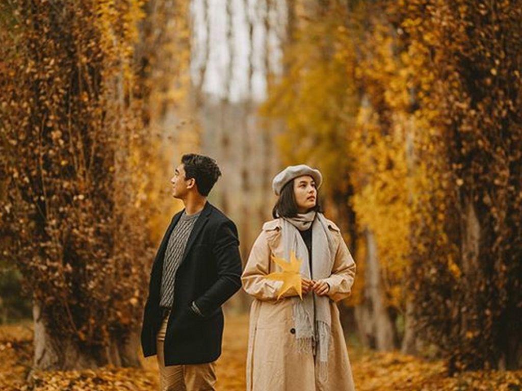 Daffa mengatakan ini bukanlah foto prewedding keduanya. Foto: Dok. Instagram/daffawardhana