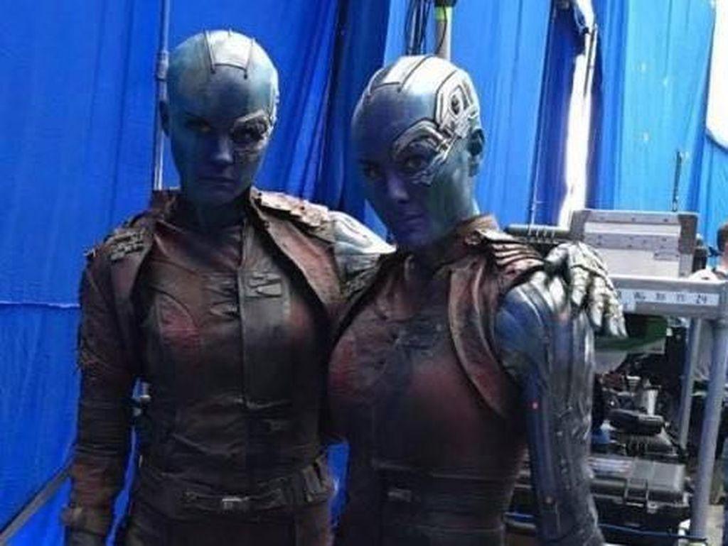 Karen Gillan berperan sebagai Nebula. (Foto: Facebook)