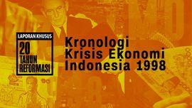 Kronologi Krisis Ekonomi Indonesia 1998