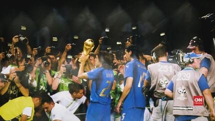 VIDEO: Perasaan Campur Aduk Pirlo Saat Final Piala Dunia 2006