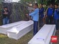 Tiga Korban Ledakan Wonocolo Dimakamkan di TPU Mr X Sidoarjo