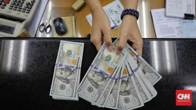 Rupiah Kian Terperosok Sentuh Rp14.120 per Dolar AS