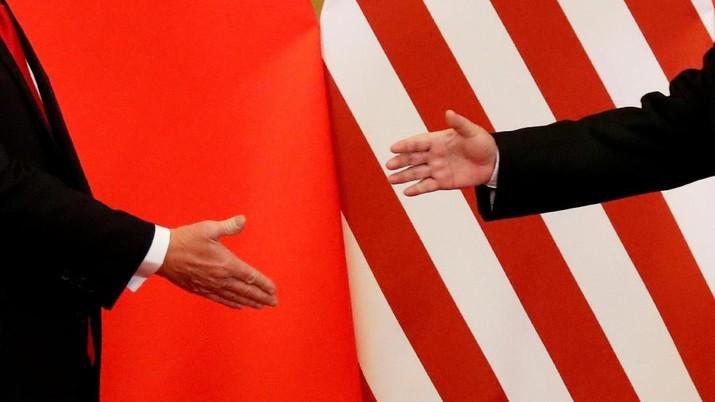 Amerika Serikat dan China sudah memulai perang dagang.