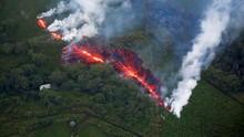 Aliran Lava Gunung Kilauea Menuju Pembangkit Listrik