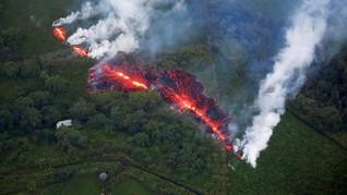 Jalur Evakuasi Terputus Lava, Warga Hawaii Terjebak
