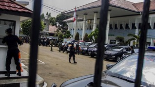Dentuman Terdengar di Sidang Aman Abdurrahman di PN Jaksel