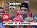 Respon PSI Dituduh Curi Start Kampanye