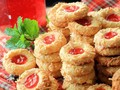 Resep Kue Kering Strawberry Thumbprint