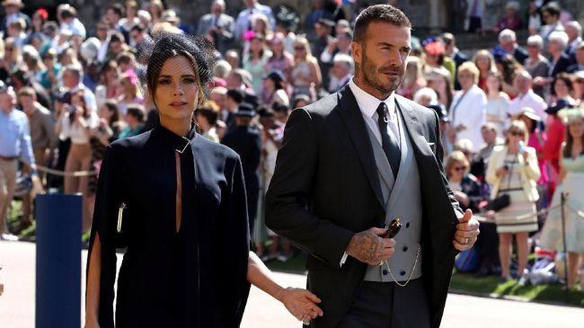 David dan Victoria Beckham Bantah Isu Cerai