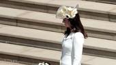 Kate Middleton Nyentrik Bertopi Unik di Pernikahan Pangeran Harry
