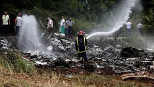 Pesawat Boeing 737 Jatuh di Kuba, 100 Lebih Tewas