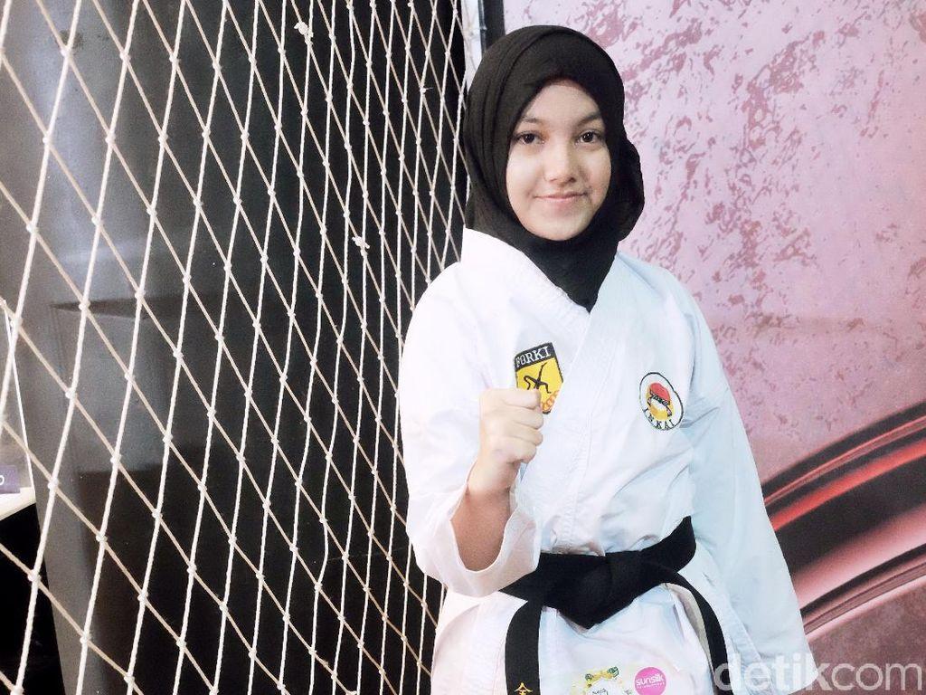 Jago Karate, Hijabers Bertubuh Mungil Ini Direkrut Badan Intelijen Negara