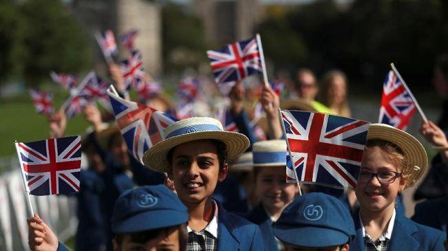 Gema Pernikahan Pangeran Harry-Markle, Inggris sampai Amerika