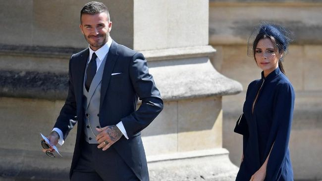Beckham hingga Oprah Winfrey Hadiri Pernikahan Harry-Markle