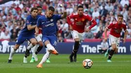 Chelsea Unggul 1-0 Atas Man United di Babak Pertama