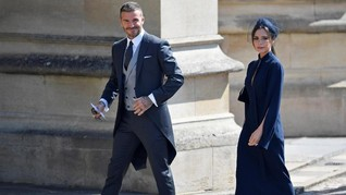 'Meghan Markle' ala Victoria Beckham di Nikahan Sergio Ramos