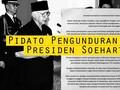 Pidato Pengunduran Diri Presiden Soeharto