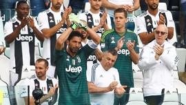 Buffon Menangis di Laga Terakhir Bersama Juventus