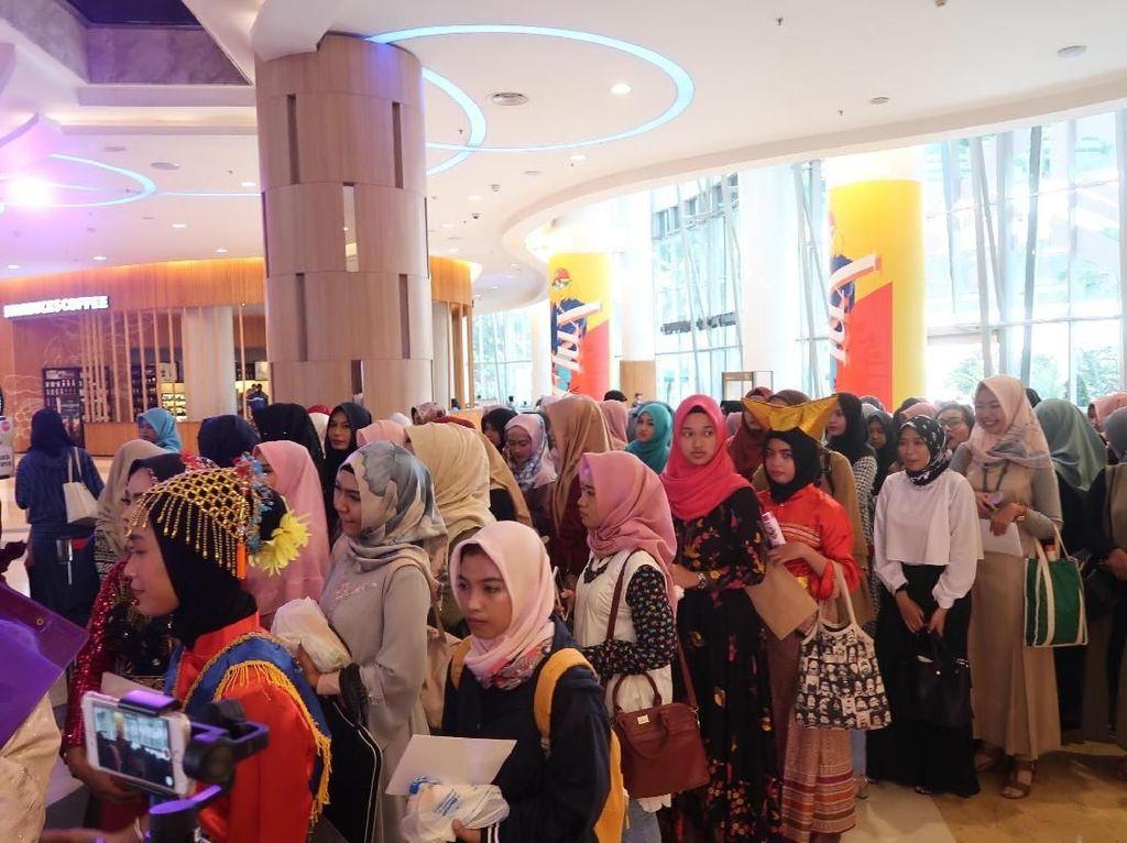 Ratusan Hijabers Antre Sejak Pagi di Audisi Sunsilk Hijab Hunt Jakarta