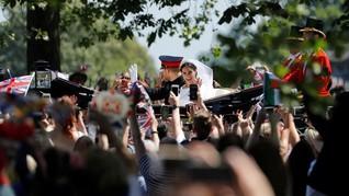 FOTO: Arak-Arakan Pernikahan Pangeran Harry-Meghan Markle